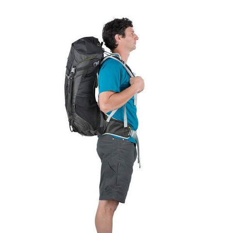 Osprey Stratos 36 Litre Men's Daypack in use side view