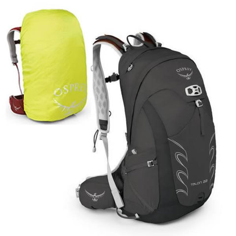 Osprey Talon 22 Litre Adventure Daypack latest model with free raincover