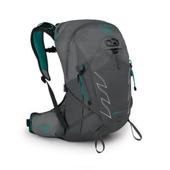 Osprey Tempest Pro 18 litre womens multisport backpack side view filled