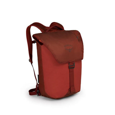Osprey Transporter 20 Litre Flap Opening Commute Pack Ruffian Red