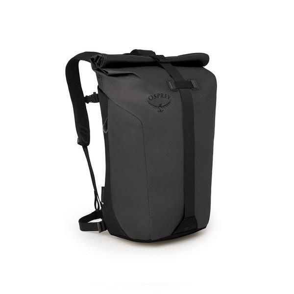 Osprey Transporter Roll Top Commute Day Pack Black