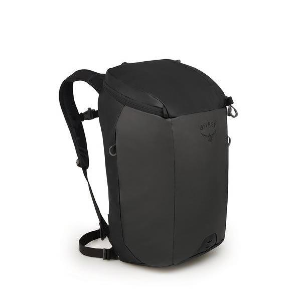 Osprey Transporter 30 Litre Zip Top Commute Daypack with Lap Top Sleeve Black