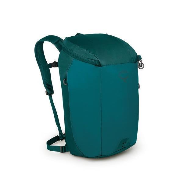 Osprey Transporter 30 Litre Zip Top Commute Daypack with Lap Top Sleeve Westwind Teal