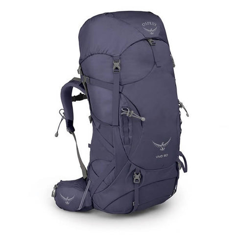 Osprey Women's Viva 50 Litre Hiking Backpack Mercury Purple