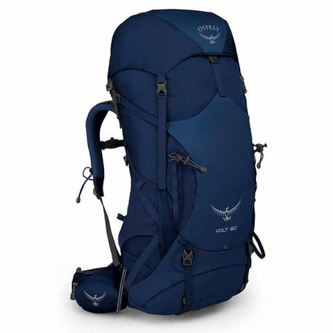 Osprey Volt 60 Litre Hiking Mountaineering Backpack Portada Blue