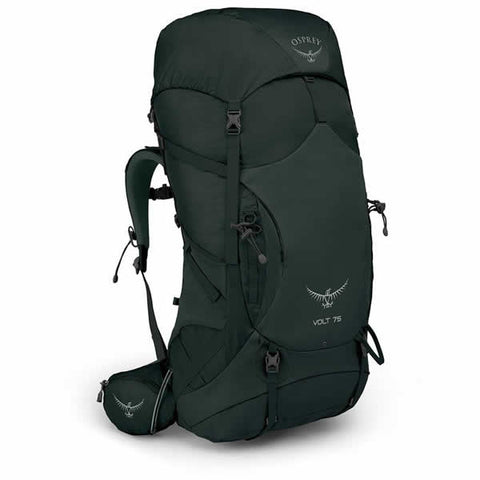 Osprey Volt 75 Litre Men's Hiking Mountaineering Backpack Conifer Green