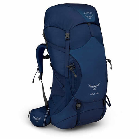 Osprey Volt 75 Litre Men's Hiking Mountaineering Backpack Portada Blue