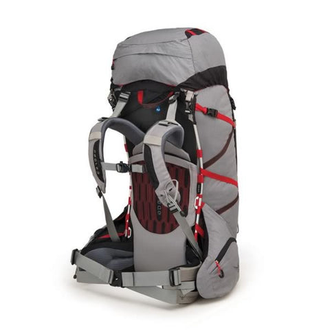 Osprey Aether 70 Pro Kepler Grey Harness View