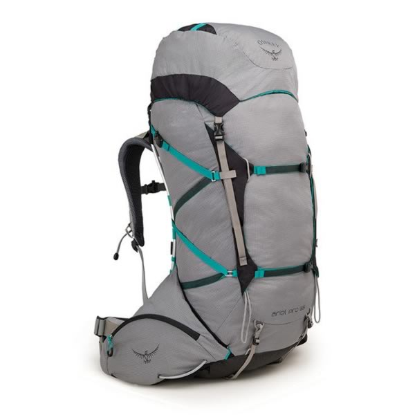 Osprey Ariel Pro 65 Litre Women's Backpack Voyager Grey