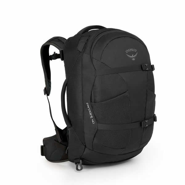 Osprey Farpoint 40 Litre Travel Backpack Volcanic Grey