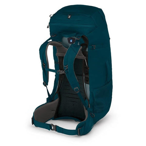 Osprey Farpoint Trek 75 Litre Hiking Travel Backpack with free Aircover Petrol Blue Harness
