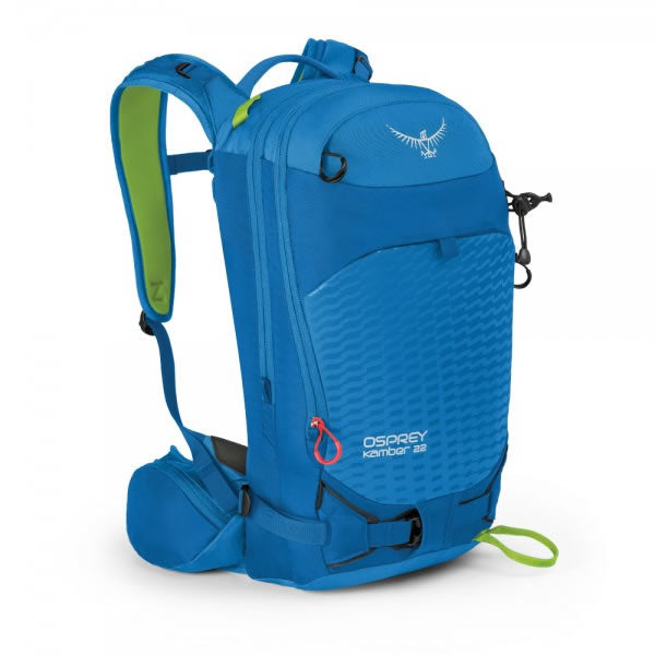 Osprey Kamber 22 Litre Ski and snowboard backpack Cold blue