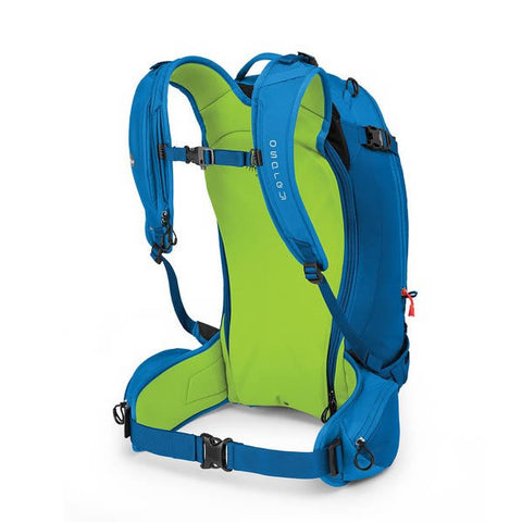 Osprey Kamber 32 Litre Ski Backcountry Ride Backpack cold blue harness