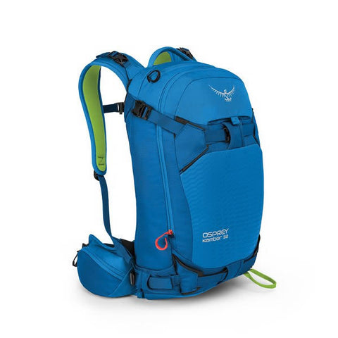 Osprey Kamber 32 Litre Ski Backcountry Ride Backpack cold blue