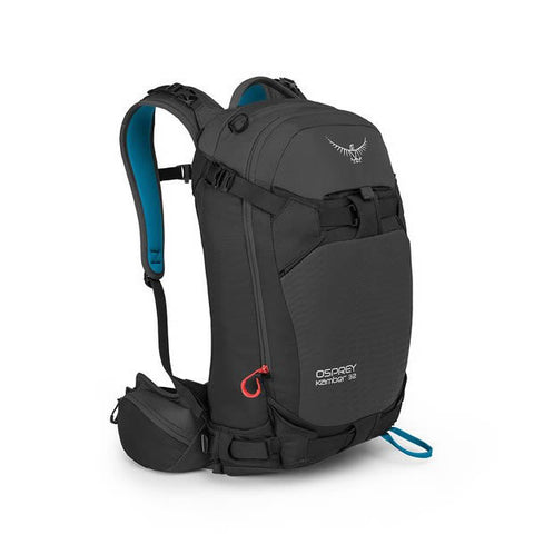 Osprey Kamber 32 Litre Ski Backcountry Ride Backpack galactic black