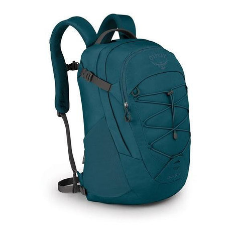 Osprey Questa 26 Litre Women's Daypack with padded laptop sleeve ethel blue