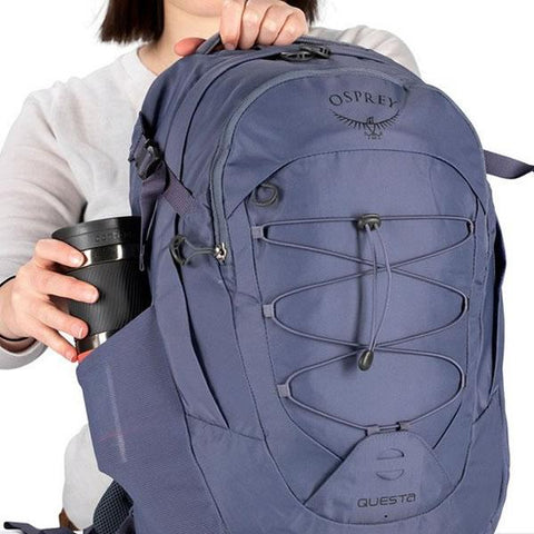 Osprey Questa 26 Litre Women's Daypack with padded laptop sleeve with water bottle pocket
