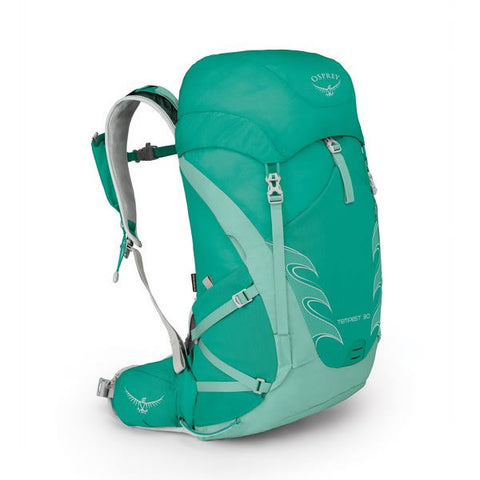 Osprey Tempest 30 Womens Hiking Backpack Lucent Green