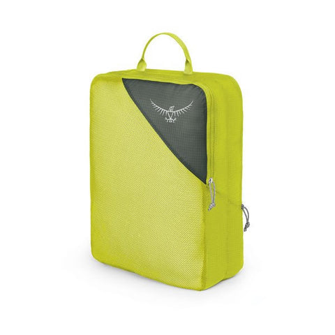 Osprey double sided ultralight packing cube large electric lime