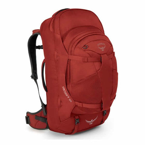 Osprey Farpoint 55 Litre Travel Backpack Jasper Red