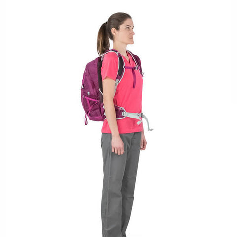 Osprey Tempest Women's 20 Litre Daypack in use front view