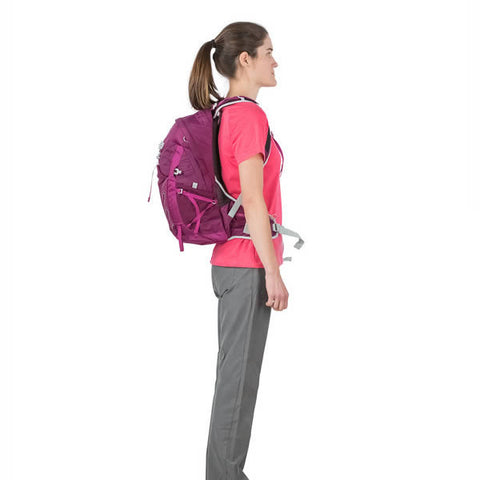 Osprey Tempest Women's 20 Litre Daypack in use side view