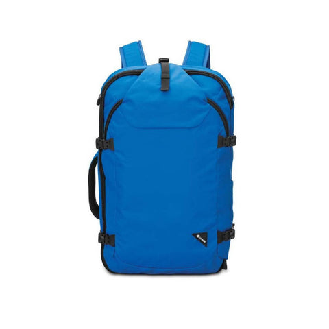 Pacsafe Venturesafe EXP45 Anti-theft Carry on 45 litre travel backpack blue