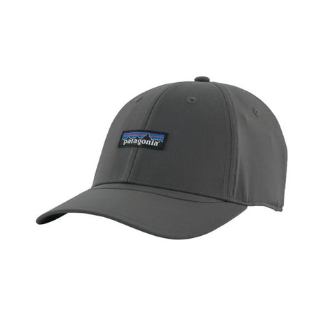 Patagonia Airshed Cap in use, quick drying lightweight adventure sports cap