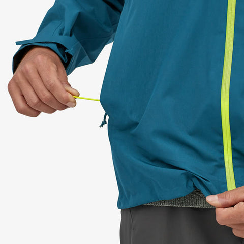Patagonia Men's Calcite Gore-Tex Jacket drawcord