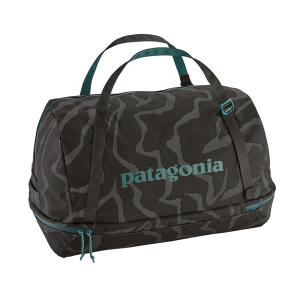 Patagonia Planing Duffel Bag 55 Litres Tiger Tracks Camo and Ink