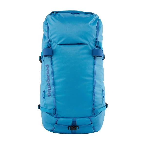 Patagonia Ascensionist climbing mountaineering daypack 35 litres Joya Blue