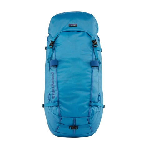Patagonia Ascensionist climbing mountaineering pack 55 litres joya blue