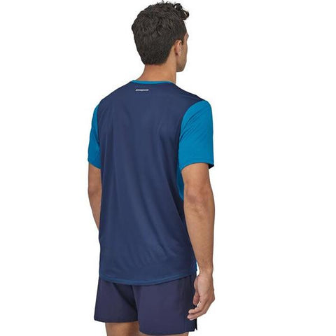 Patagonia Men's Airchaser Shirt front view in use