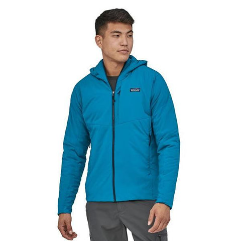 Patagonia Men's Nano Air Hoody in use front view