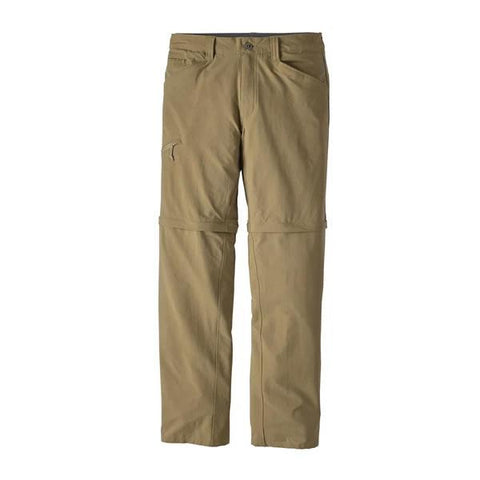 Patagonia Men's Quandary Convertible Pants Ash Tan