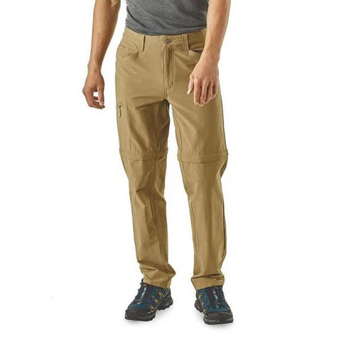 Patagonia Men's Quandary Convertible Pants in use front view