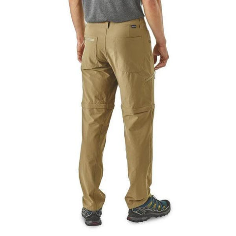 Patagonia Men's Quandary Convertible Pants rear view