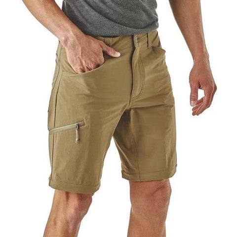 Patagonia Men's Quandary Convertible Pants zipped off shorts