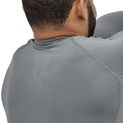 Patagonia Men's RO Surf Rashie Long Sleeve in use back view