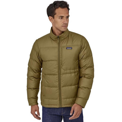 Patagonia Men's Tres 3 in 1 insulated down liner in use