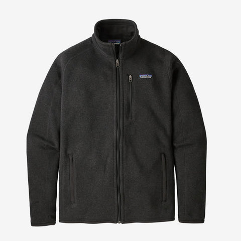 Patagonia Men's Better Sweater Fleece Jacket Black