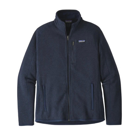 Patagonia Men's Better Sweater Fleece Travel Jacket New Navy