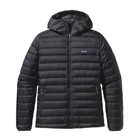 Patagonia Men's Down Sweater Hoody Jacket - 800 Loft Black