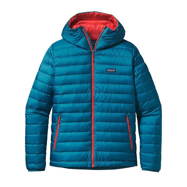 Patagonia Men's Down Sweater Hoody Jacket - 800 Loft - Seven Horizons