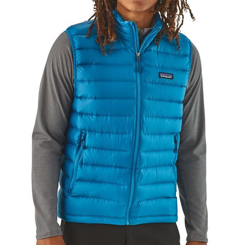 Patagonia Men's Down Sweater Vest in use front view