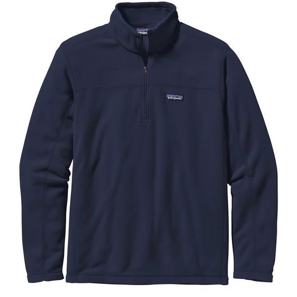 Patagonia Men's Micro D 1/4 Zip Fleece Pullover Navy