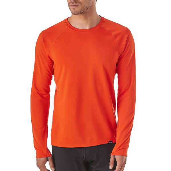 79e7776c9 Patagonia Men's Capilene Midweight Crew Thermal Top Latest Model - Thermal  Underwear