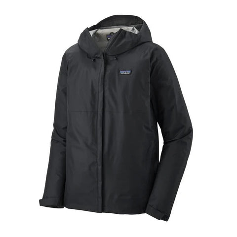 Patatagonia mens torrentshell jacket 3 layer mens black