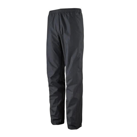 Patagonia Men's Torrentshell 3 Layer Waterproof Windproof Overpants in use front view