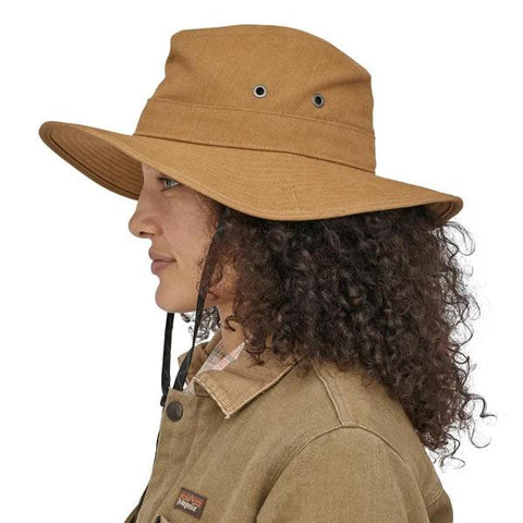 Patagonia The Forge Hat in use front view woman